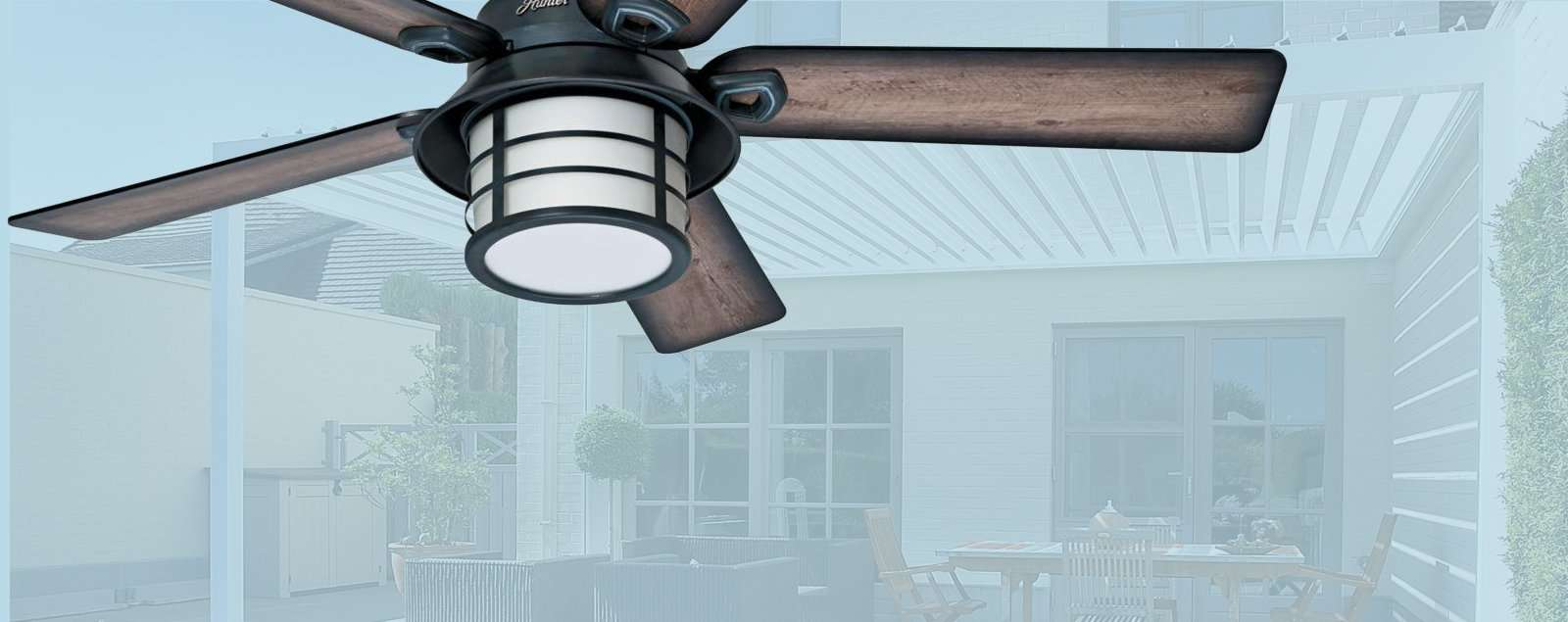 Outdoor Ceiling Fans Wet Rated For Uncovered Locations Exposed To Rain