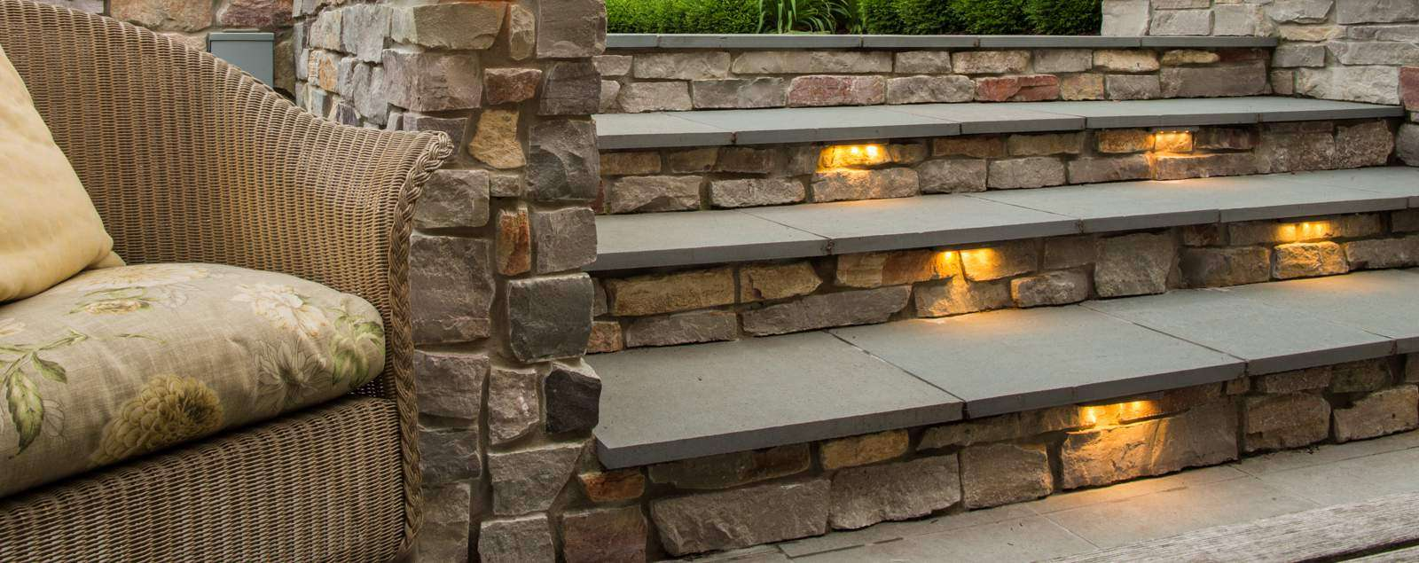Step Lights and Deck Lights for Outdoor Exterior Locations