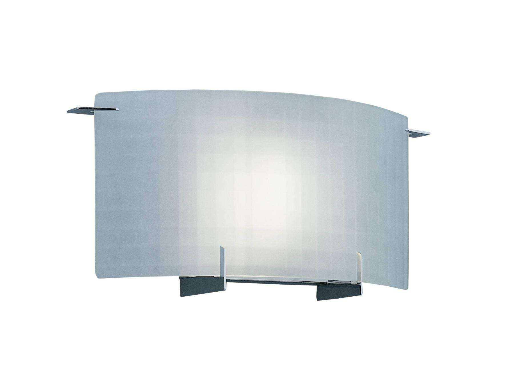 Designers Fountain 6040-CH Moderne Wall Sconce in Chrome finish with Frosted glass