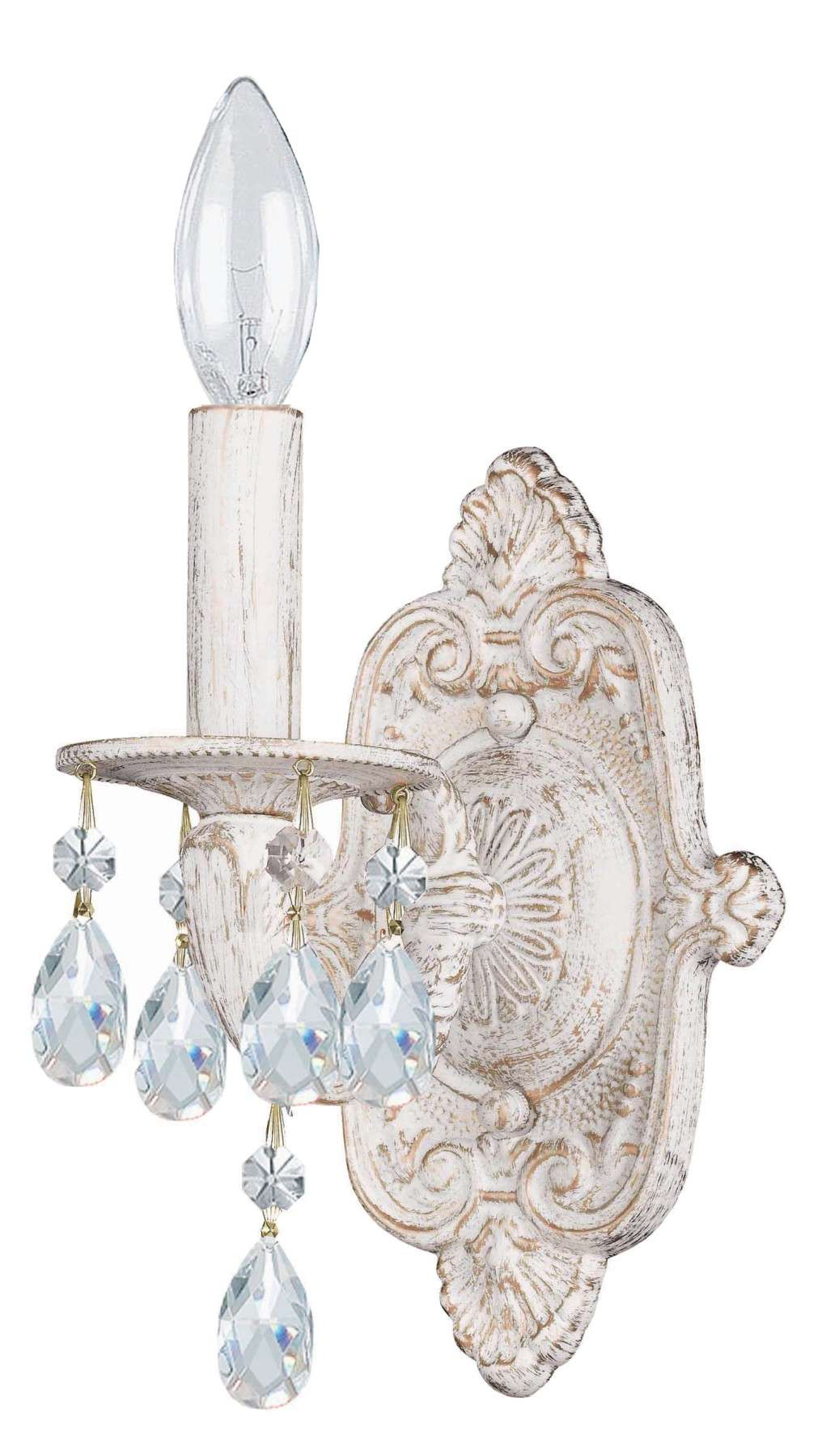 Crystorama 5021-AW-CL-MWP Clear Hand Cut Crystal Chandelier
