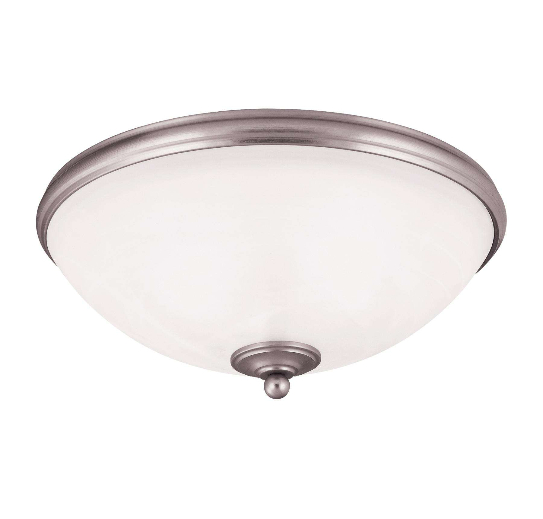Savoy House 6-5787-15-69 Willoughby Flush Mount in Pewter Finish with White Marble glass