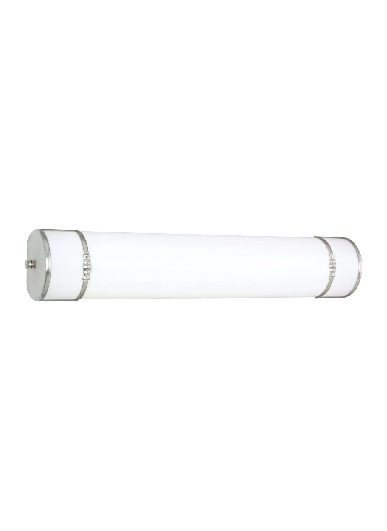 Seagull Lighting 49215BLE-962 Two-Light Balmoral Fluorescent in Brushed Nickel finish; ENERGYSTAR Compliant