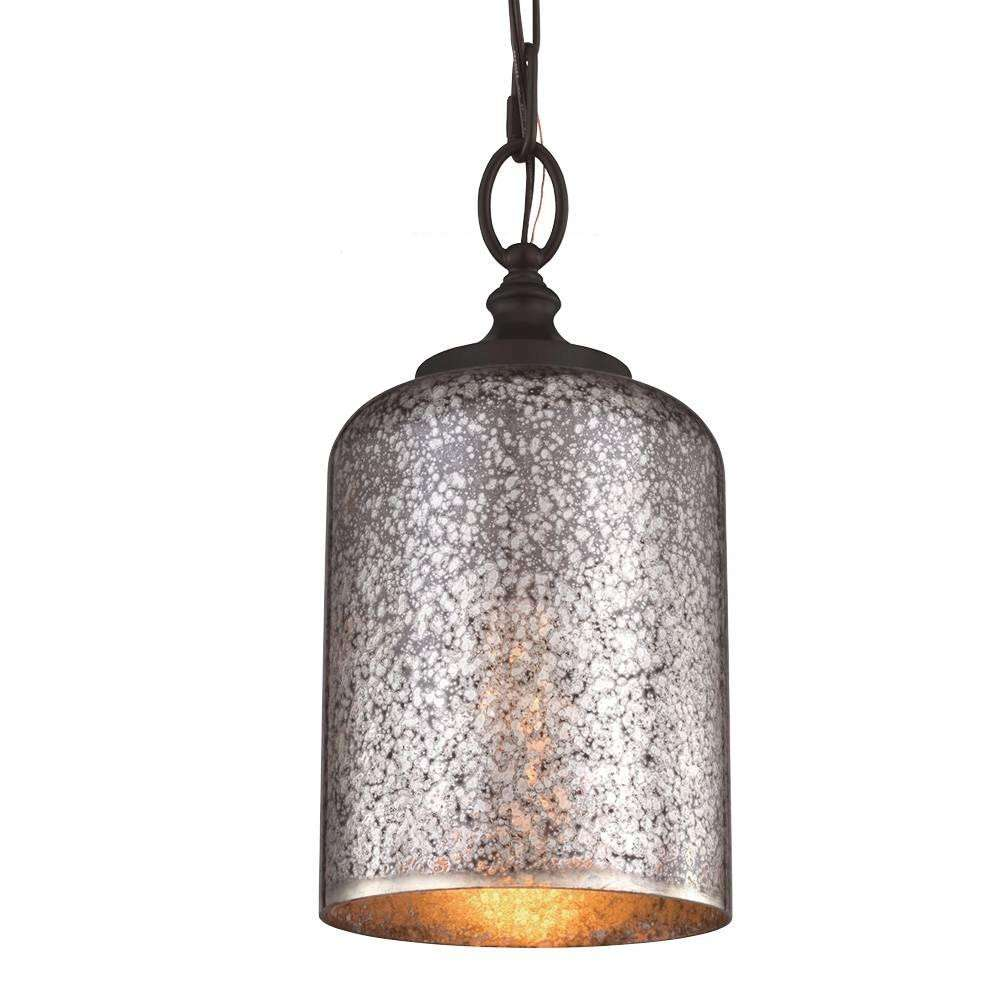 hounslow 1 bulb oil rubbed bronze pendant