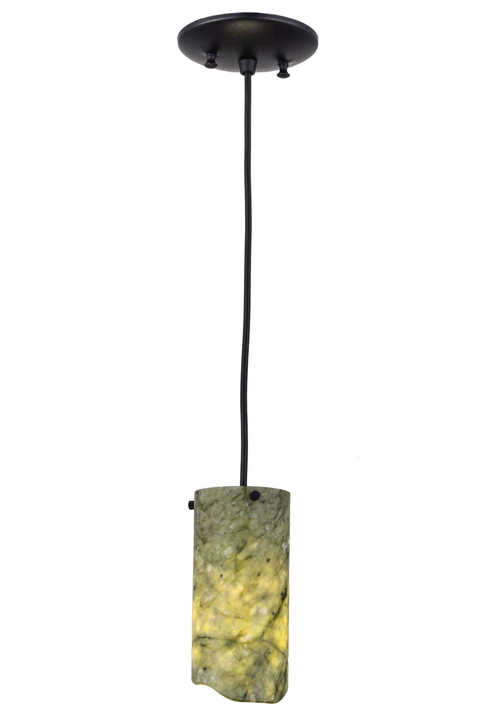 Meyda Tiffany 121526 Jadestone Green Mini Pendant