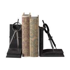 Sterling Furnishings 51-10002 Compass Bookends
