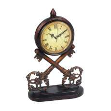 Sterling Furnishings 51-0281 Key Clock ( 1-Aa Battery Not Included)