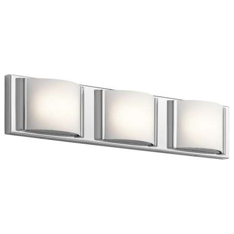 "Bretto LED 22.5"" Vanity in CH - Chrome"