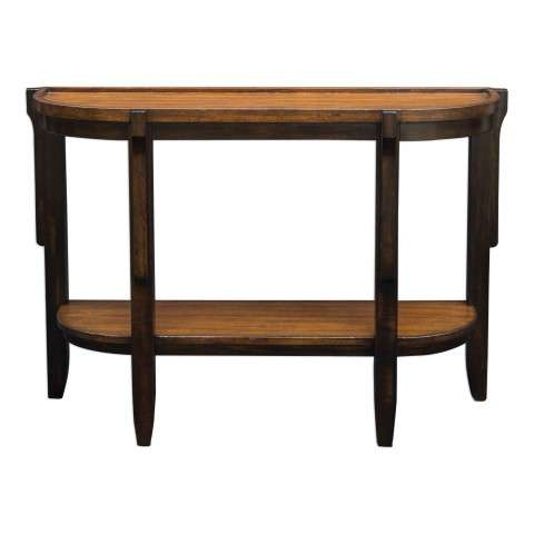 Sigmon Wooden Console Table