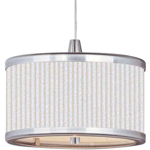 Elements 1-Light RapidJack Pendant in Satin Nickel