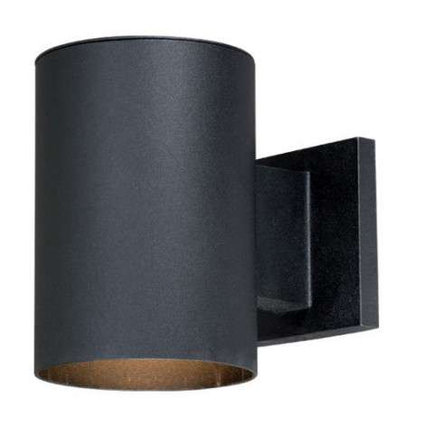 "Chiasso 5"" Outdoor Wall Light Textured Black"