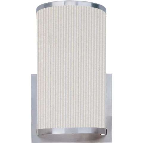 Elements 1-Light Wall Sconce in Satin Nickel