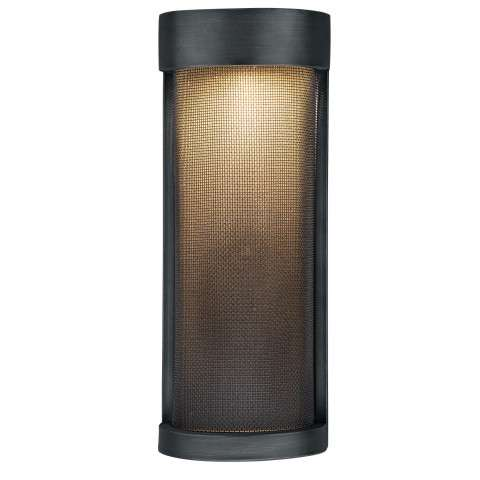 "Wicker Park 5"" LED Outdoor Wall Light Warm Pewter"