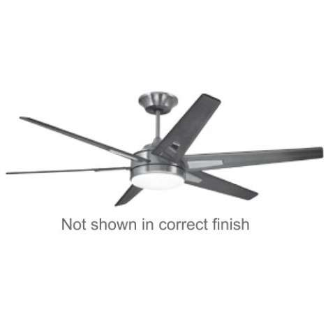 Emerson Rah ECO (DC Motor) Ceiling Fan Model CF915W60ORB in Oil Rubbed Bronze with Walnut blades.