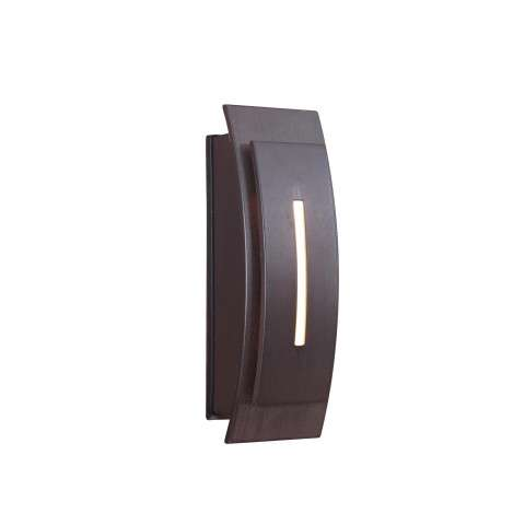 Teiber Touch Buttons Led Contemporary Curved In Aged Iron