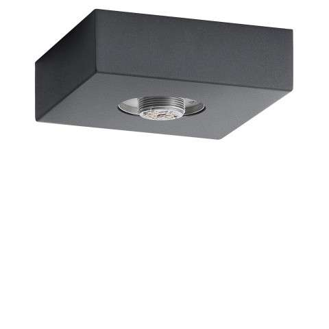 Mates Flush Base Hardware Only in Charcoal